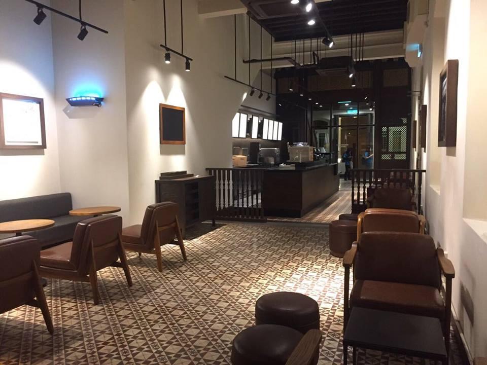 【Starbucks Green Hall】4